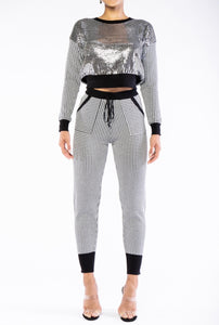 GLITZ AND GLAMOUR SWEATSUIT