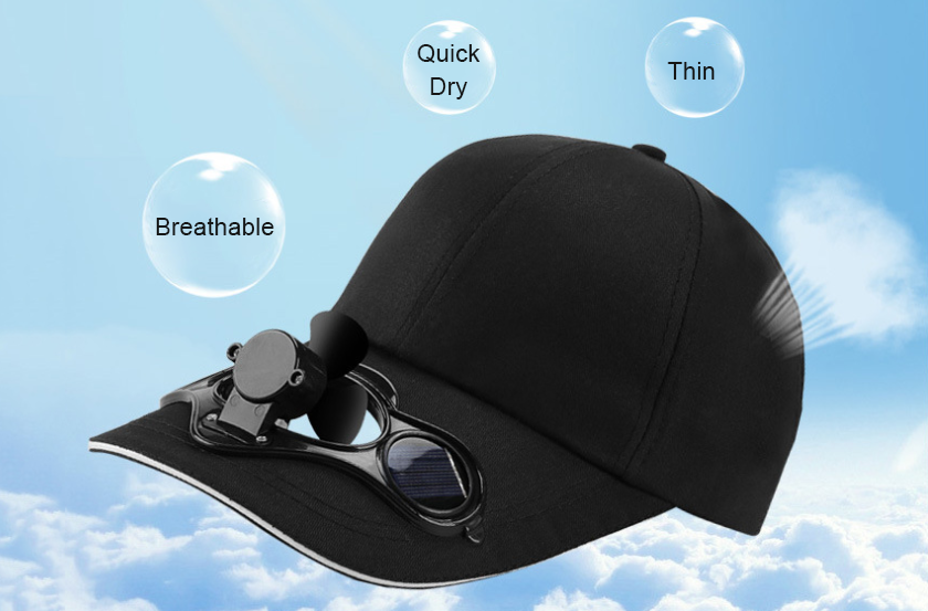 Fan Cooling  - Sun Protection Sports Travel Hat