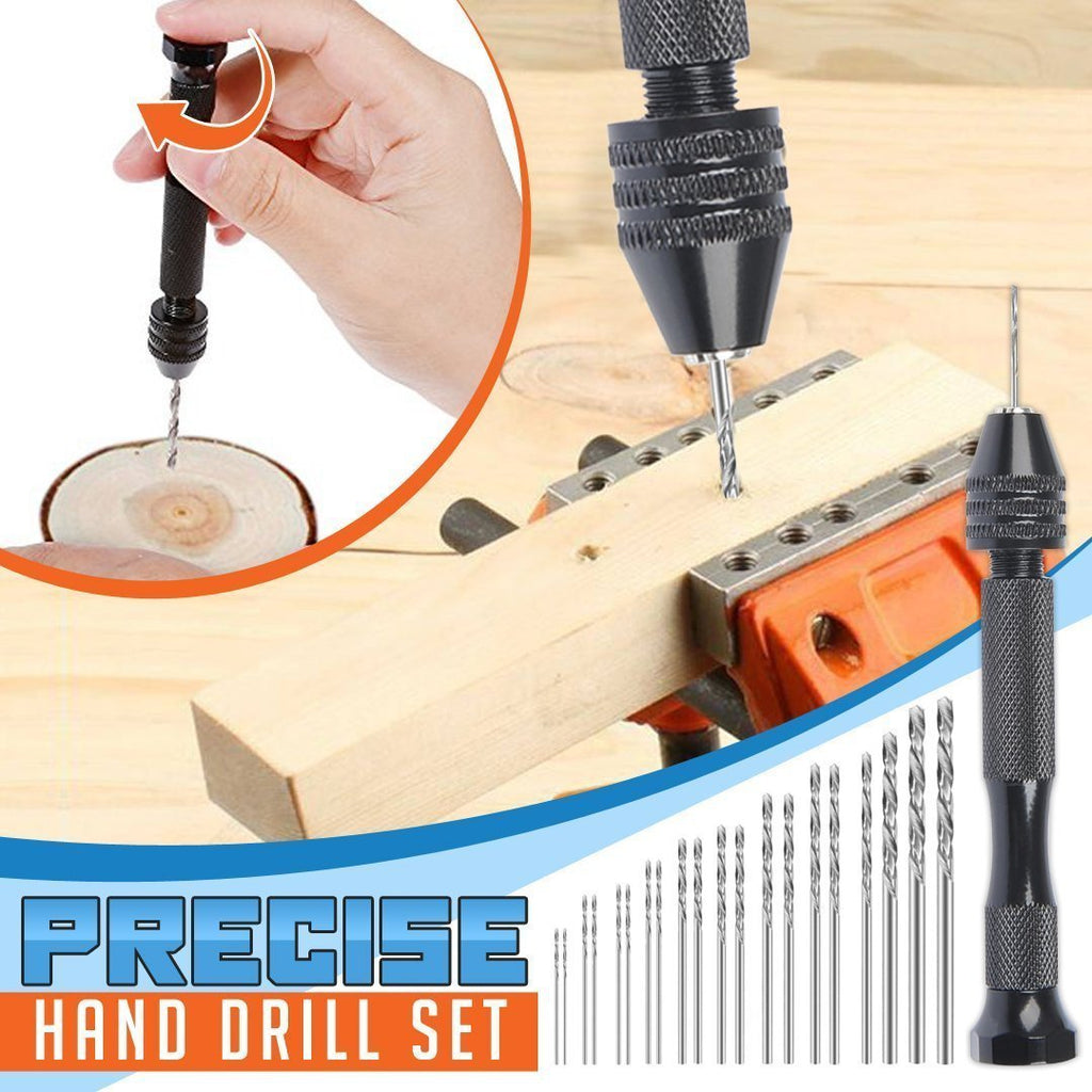 🔥 HOT SALE 🔥Precise Hand Drill Set