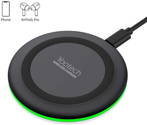 Yootech wireless charger Qi certified 7.5W wireless charging compatible with iPhone
