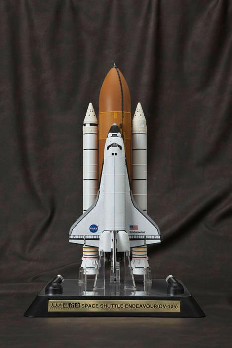 Limited Promotion-The Greatest Model Ever - Space Shuttle Endeavour in 1:144 Scale