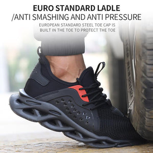 Breathable Lightweight Safety Work Shoes - ecobuybuy