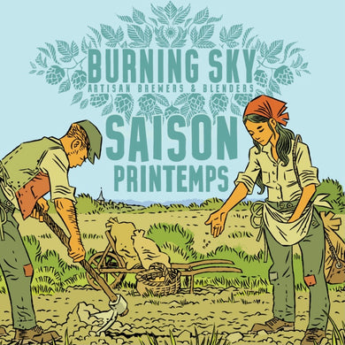 Burning Sky // Saison Printemps