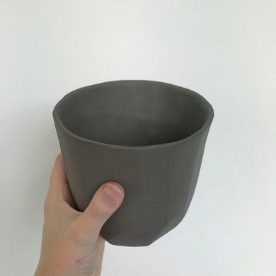 Carved Plant Pot