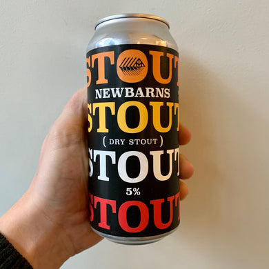 Newbarns Brewery // Stout Beer