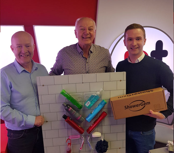 Listen to The ShowerGem founders speak with Bobby Kerr on Newstalks 'Down to Business'