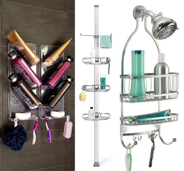 8 Best Shower Caddies to Buy