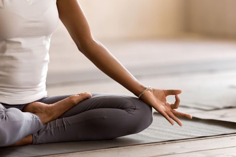 Meditation and yoga can help reduce symptoms associated with insomnia.
