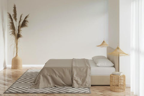 Bamboo bedding lasts 5-15 years