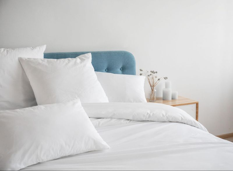 The Snoozy Monk Bamboo Sheet Set is available in Double, Queen and King.