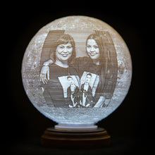 Load image into Gallery viewer, 3D Printed Moon Lamp