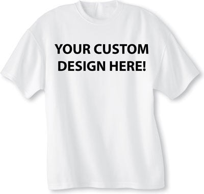 Personalised T-shirts - Available on special request