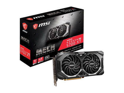 MSI RX 5700 XT Mech OC Edition 8GB Graphics Card (Grade SS) - Nerd Gearz
