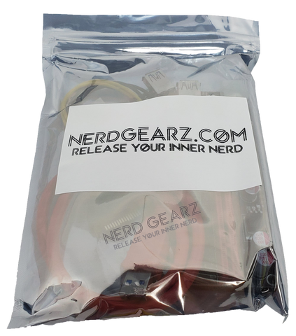 Nerd GearZ PCI-E Risers Packs (6 Pin PCI-E Powered) (VER009S) - Nerd Gearz