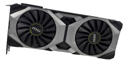 MSI Ventus RTX 2080 OC Edition 8GB Graphics Card (Grade D) - Nerd Gearz