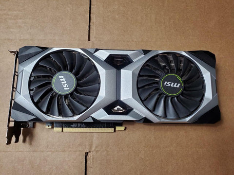 MSI RTX 2080 Ventus 8GB Graphics Card (Grade D) - Nerd Gearz