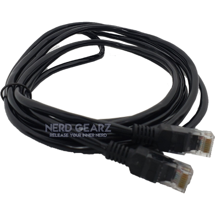 Nerd GearZ 6ft Cat5e Ethernet Cable (Grade SS) - Nerd Gearz