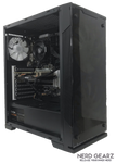Mid-Tier Gaming PC AMD Ryzen 5 1600, 16 GB DDR4 RAM, 120 GB SSD, 1 TB HDD, Zotac GTX 1070 8GB Mini, Windows 10 Pro - Nerd Gearz