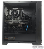 Mid-Tier Gaming PC AMD Ryzen 5 1600, 16 GB DDR4 RAM, 120 GB SSD, 1 TB HDD, Zotac GTX 1070 8GB, Windows 10 Pro - Nerd Gearz
