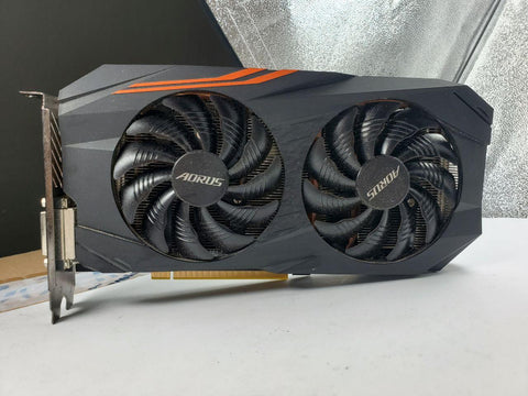 Gigabyte Aorus RX 580 8gb Graphics Card (Grade D)