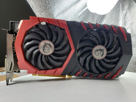 MSI Gaming X RX 480 4gb Graphics Card (Grade D)