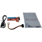 4-Pin Molex Powered Riser Packs - Nerd Gearz