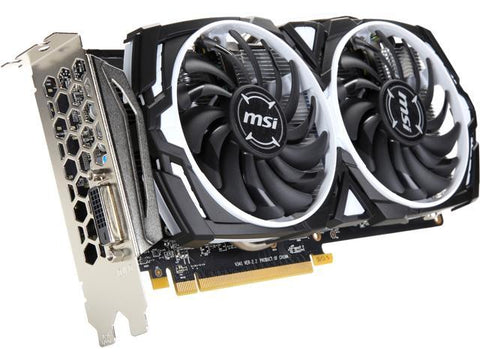 MSI RX 470 4GB Armor Graphics Card (Mining Edition, DVI Port Only) **Pre-Order** - Nerd Gearz