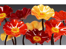 Load image into Gallery viewer, 7 Flower Autumn - Glass Flowers by Scott Johnson