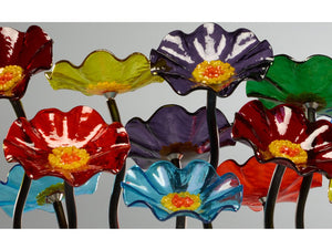 7 Flower Prism - Glass Flowers by Scott Johnson