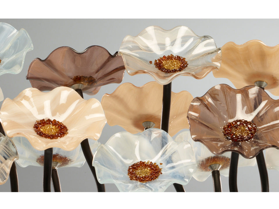 Load image into Gallery viewer, 5 Flower Lincolnshire - Glass Flowers by Scott Johnson