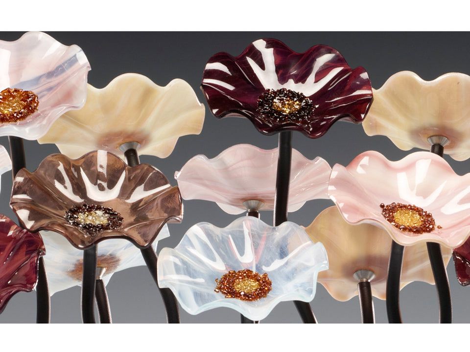 Load image into Gallery viewer, 5 Flower Venice - Glass Flowers by Scott Johnson