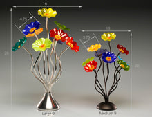 Load image into Gallery viewer, 9 flower Chicago - Glass Flowers by Scott Johnson