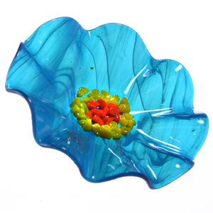 Aqua Replacement Flower - Glass Flowers by Scott Johnson