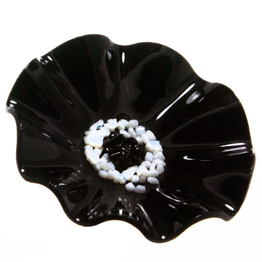 Black Replacement Flower - Glass Flowers by Scott Johnson