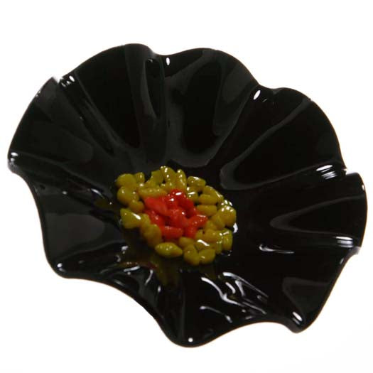 Load image into Gallery viewer, Black Replacement Flower - Glass Flowers by Scott Johnson