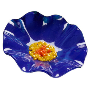 Blue Replacement Flower - Glass Flowers by Scott Johnson