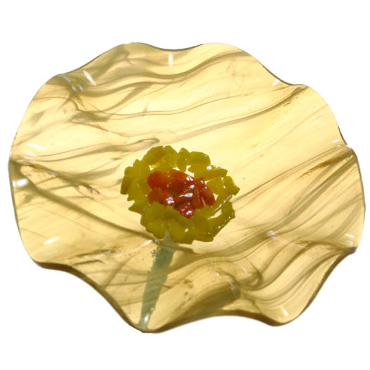 Load image into Gallery viewer, Butterscotch Replacement Flower - Glass Flowers by Scott Johnson