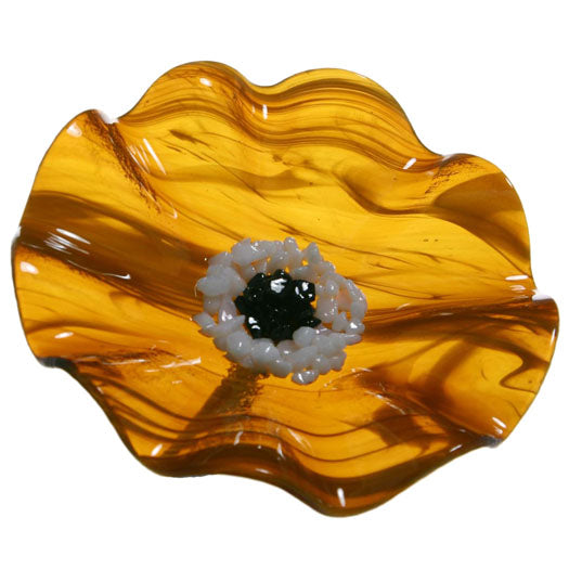 Load image into Gallery viewer, Caramel Replacement Flower - Glass Flowers by Scott Johnson