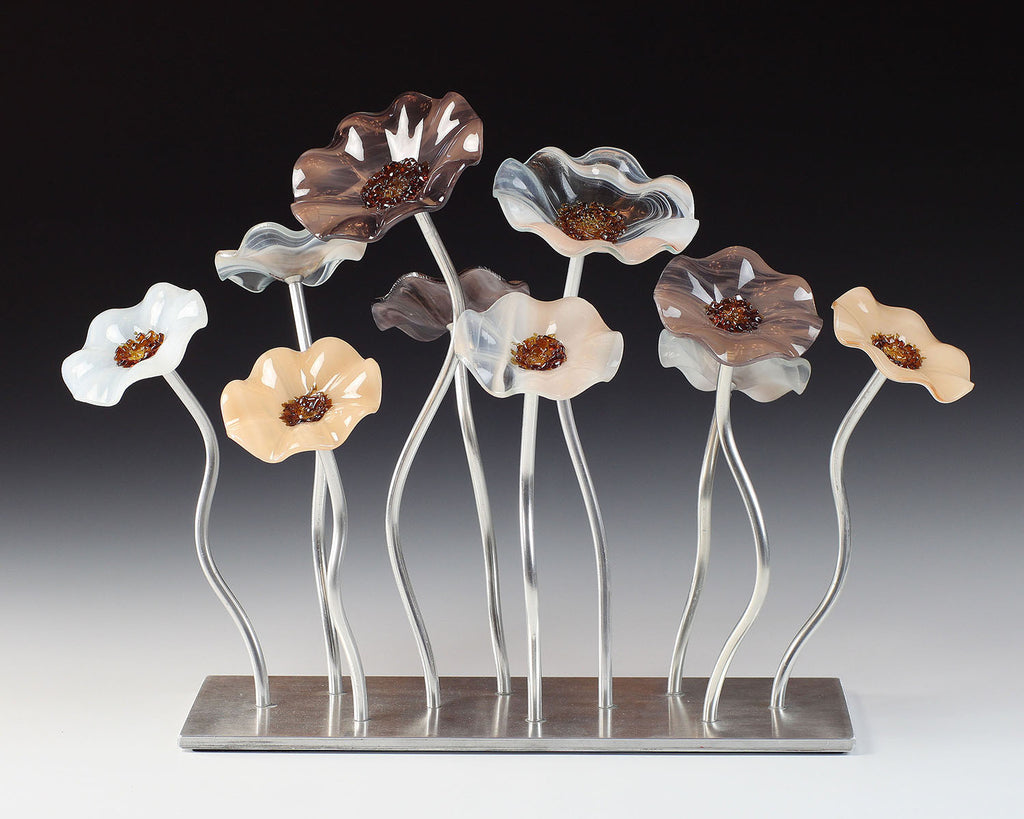 10 Flower Garden - Lincolnshire - Glass Flowers by Scott Johnson