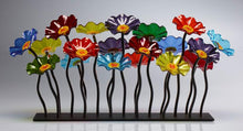 Load image into Gallery viewer, Garden 19 Prism 107 - Glass Flowers by Scott Johnson