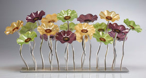 Garden 19 Aspen 182 - Glass Flowers by Scott Johnson