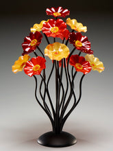 Load image into Gallery viewer, 15 flower tree Autumn - Glass Flowers by Scott Johnson