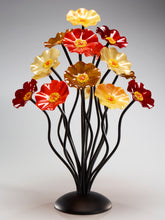 Load image into Gallery viewer, 15 flower tree Tuscany glass flowers - Glass Flowers by Scott Johnson