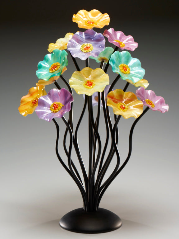 Load image into Gallery viewer, 15 flower tree Monsoon - Glass Flowers by Scott Johnson