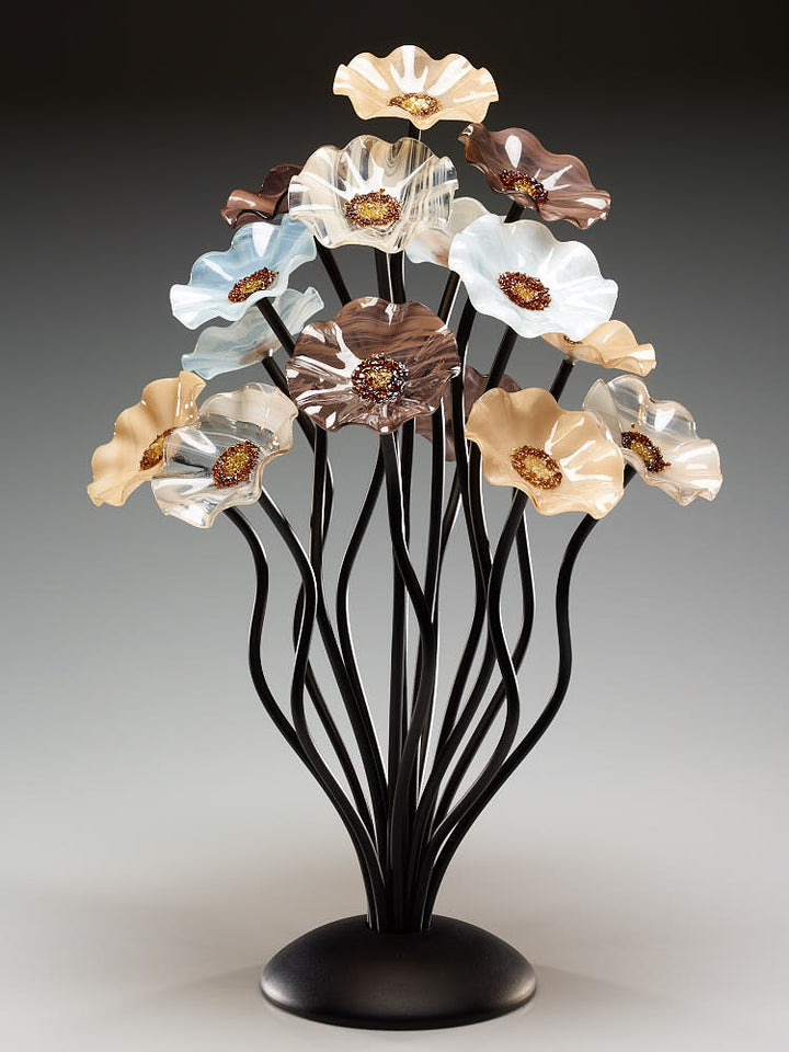 Load image into Gallery viewer, 15 flower tree Lincolnshire - Glass Flowers by Scott Johnson