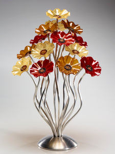 15 flower tree Chicago - Glass Flowers by Scott Johnson