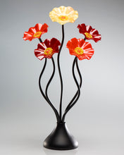 Load image into Gallery viewer, 5 Flower Autumn - Glass Flowers by Scott Johnson
