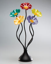 Load image into Gallery viewer, 5 Flower Surprise - Glass Flowers by Scott Johnson