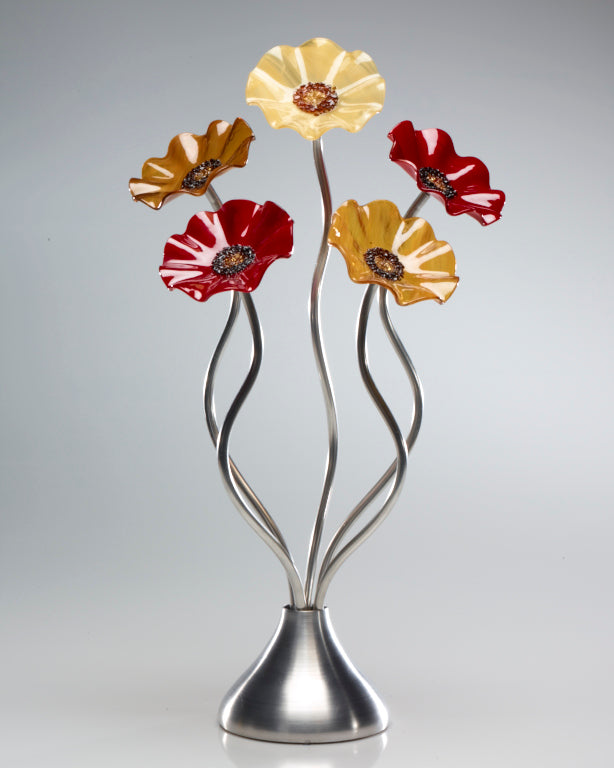 5 Flower Chicago - Glass Flowers by Scott Johnson