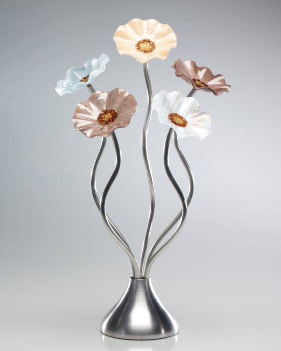5 Flower Lincolnshire - Glass Flowers by Scott Johnson